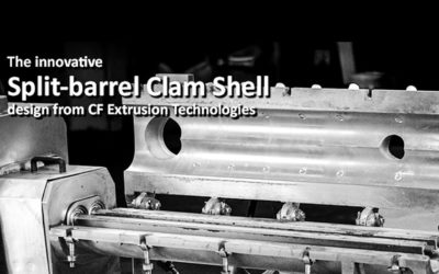 """""""CLAM SHELL"""" EXTRUSION SLEEVES REDUCE DOWNTIME AND INCREASE PROFITS"""